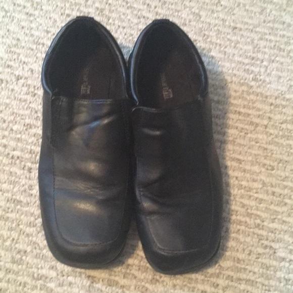 💥Boys black dress shoes
